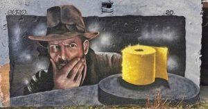 Covid Street art